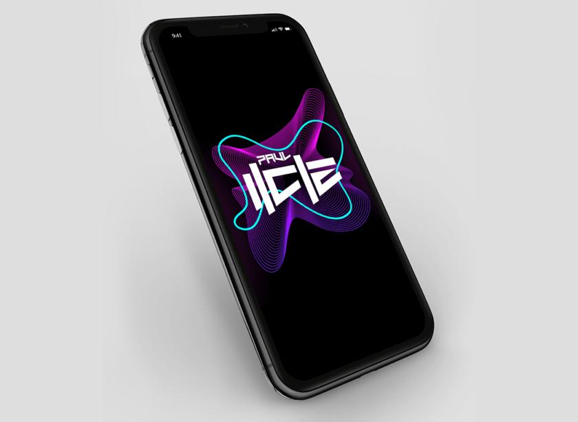 Logoentwicklung für einen DJ