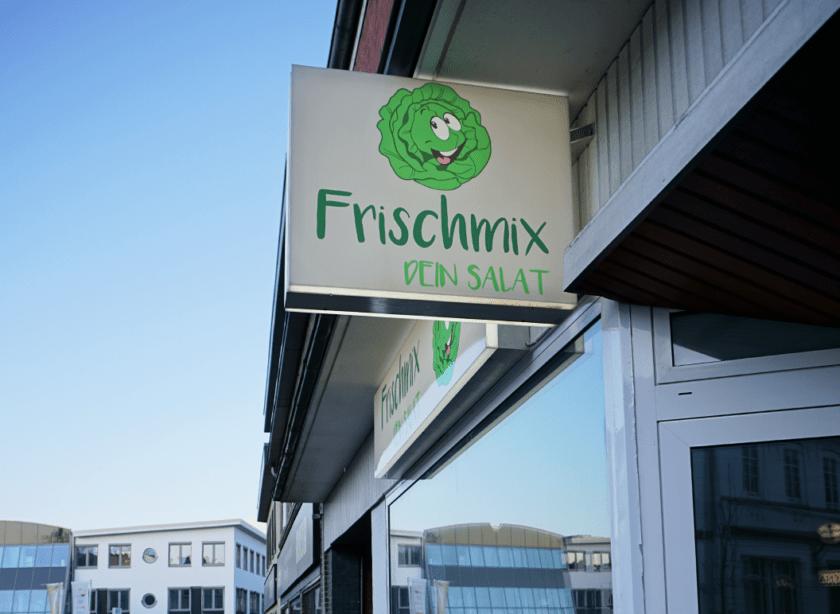 Logogestaltung Frischemix
