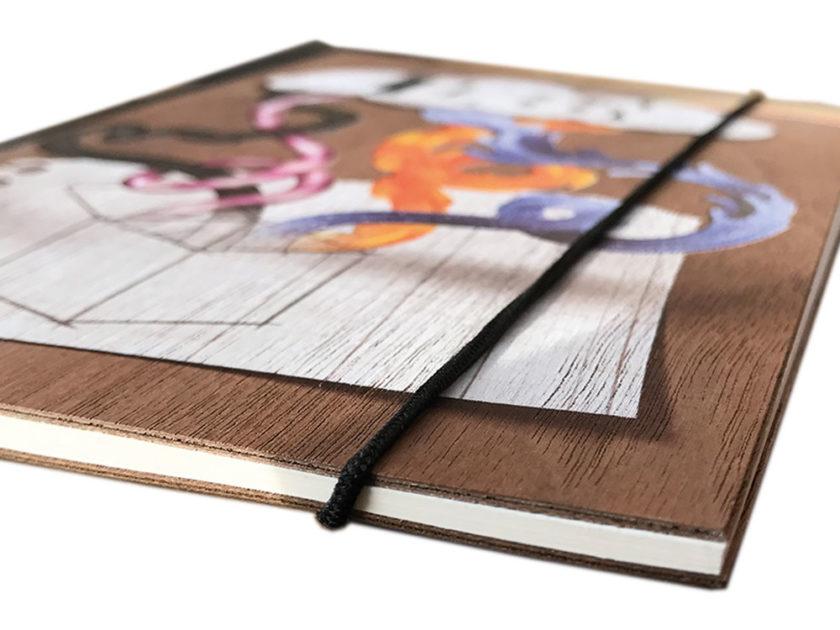 Notizbuch-Holzdruck.Druckerei-Hamburg-Medienmanager