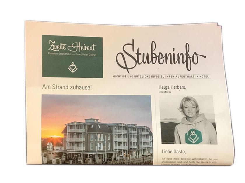 Zeitungsdruck-Naturpapier-Lagenfalz