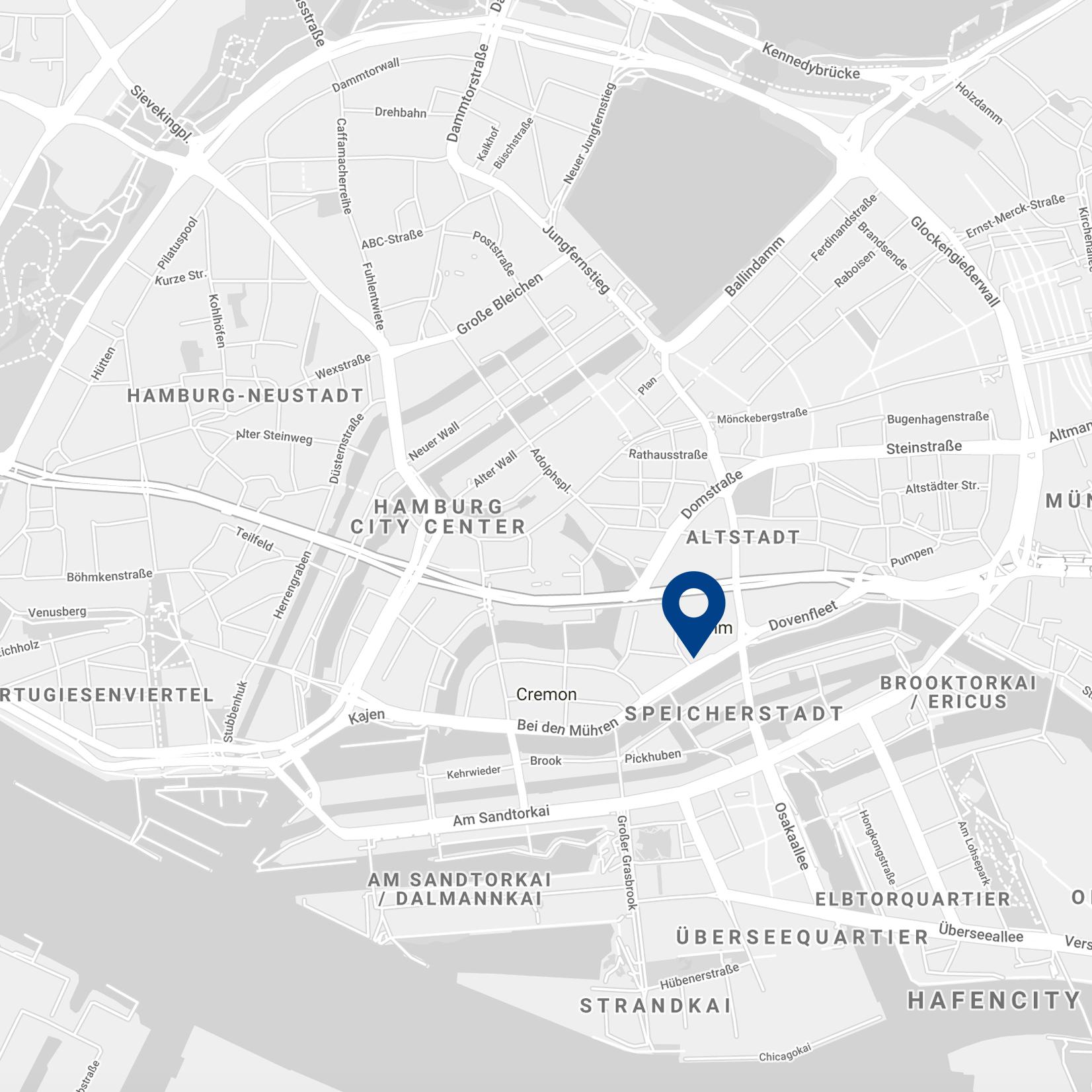 Karte – Stadtbüro Hamburg