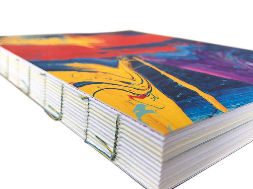 ffene-Fadenheftung-Buchdruck